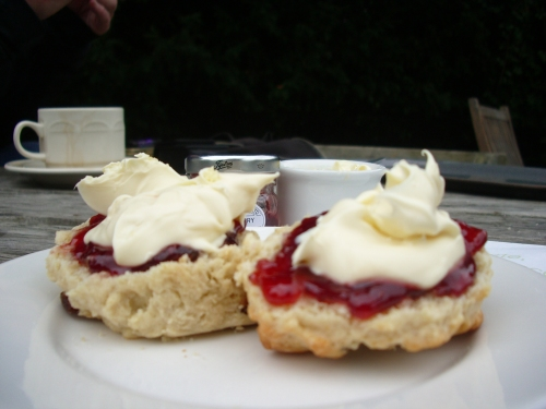 Just enough time for a cream tea!