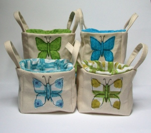 butterfly baskets